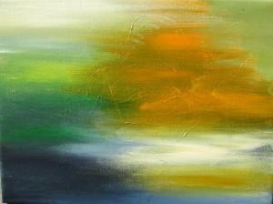 Abstrakt 2 , Acryl, 30 x 40 cm