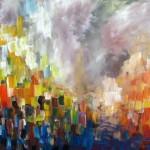 Freude, Acryl, 50 x 70 cm