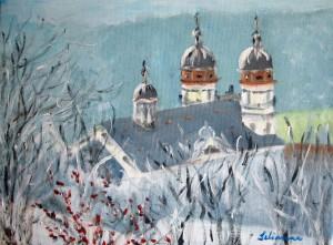 Klosterkirche imWinter