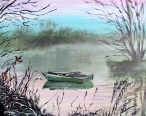 November Morgen, 60 x 80 cm