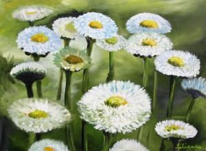 Gänseblumen, 60 x 80 cm
